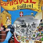 Affiche 2002 du Carnaval de Bailleul -