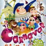 Affiche 2004 du Carnaval de Bailleul -