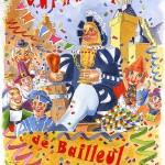 Affiche 2005 du Carnaval de Bailleul -