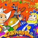 Affiche 2009 du Carnaval de Bailleul -