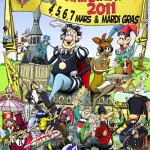 Affiche 2011 du Carnaval de Bailleul -