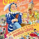Affiche 2014 du Carnaval de Bailleul -