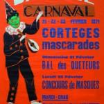 Affiche 1971 du Carnaval de Bailleul -