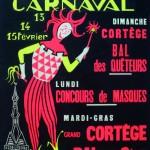 Affiche 1972 du Carnaval de Bailleul -