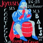 Affiche 1974 du Carnaval de Bailleul -