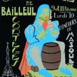 Affiche 1975 du Carnaval de Bailleul -