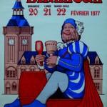 Affiche 1977 du Carnaval de Bailleul -