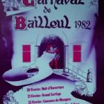 Affiche 1982 du Carnaval de Bailleul -