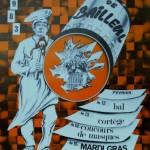 Affiche 1983 du Carnaval de Bailleul -