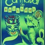 Affiche 1984 du Carnaval de Bailleul -