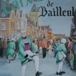 Affiche 1986 du Carnaval de Bailleul -