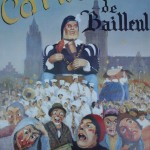 Affiche 1988 du Carnaval de Bailleul -