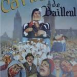 Affiche 1989 du Carnaval de Bailleul -