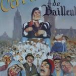 Affiche 1990 du Carnaval de Bailleul -
