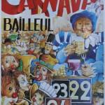 Affiche 1998 du Carnaval de Bailleul -