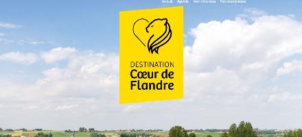Site internet de Cœur de Flandre
