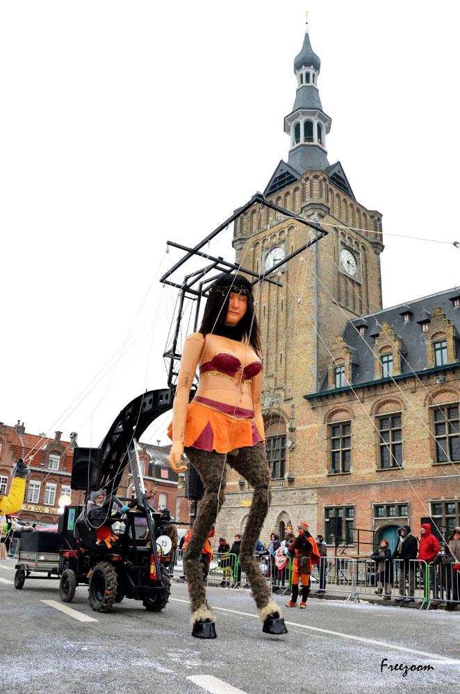 Cortège du Mardi Gras Carnaval dans la tradition