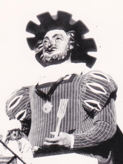 Géant Gargantua 2 du Carnaval de Baileul 1921