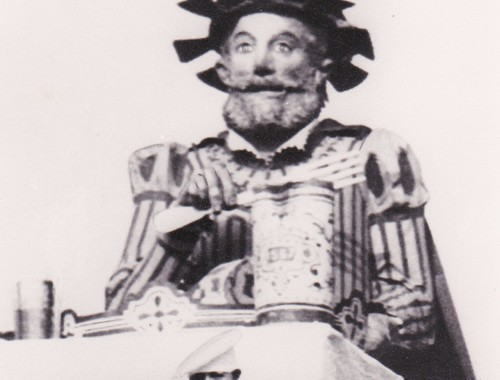 Géant Gargantua 3 du Carnaval de Bailleul 1947
