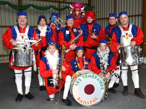 Groupes les Téméraires deu Carnaval de Bailleul