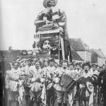 Le premier géant Gargantua du Carnaval de Bailleul -