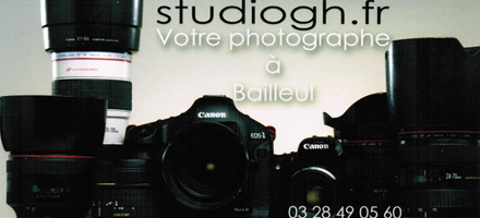 Site internet photographe Studiogh.fr