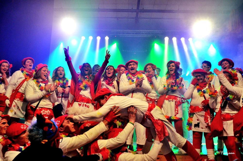 Samedi soir – Le bal du carnaval organisé par la société des quêteurs