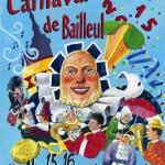 Affiche 2015 du Carnaval de Bailleul -