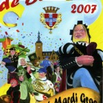 Affiche 2007 du Carnaval de Bailleul -