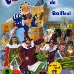 Affiche 2018 du Carnaval de Bailleul – P. Verdru -