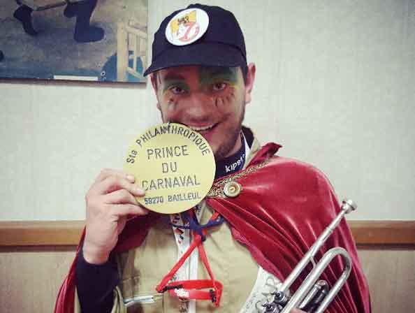 Fabien Verwaerde - Prince du Carnaval 2018
