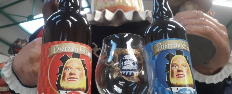 Les nouvelles bières du Géant sont arrivées !
