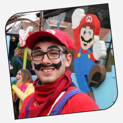 Maxime Larivière - Un prince Mario et le carnaval est plus beau