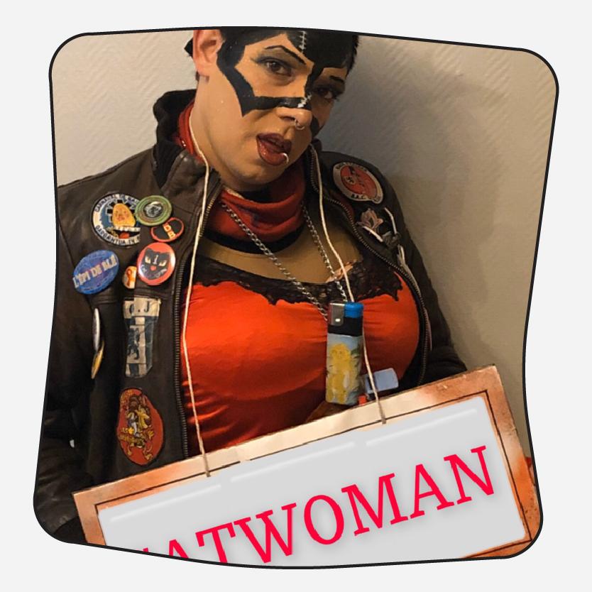 Thomas Ridez - La cité va vibrer, CatWoman est motivée !!!