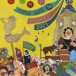 Affiche du carnaval de Bailleul 2021 -